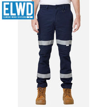 Load image into Gallery viewer, Elwd Workwear - Road Pant Cotton/poly Navy