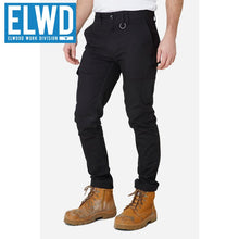 Load image into Gallery viewer, Elwd Workwear - Slim Pant Cotton/poly Black