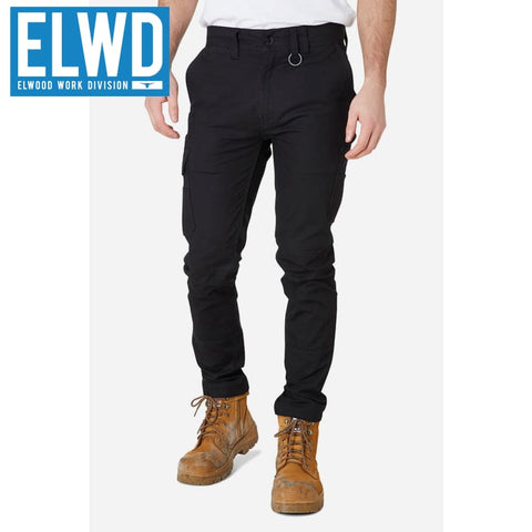 Elwd Workwear - Slim Pant Cotton/poly Black