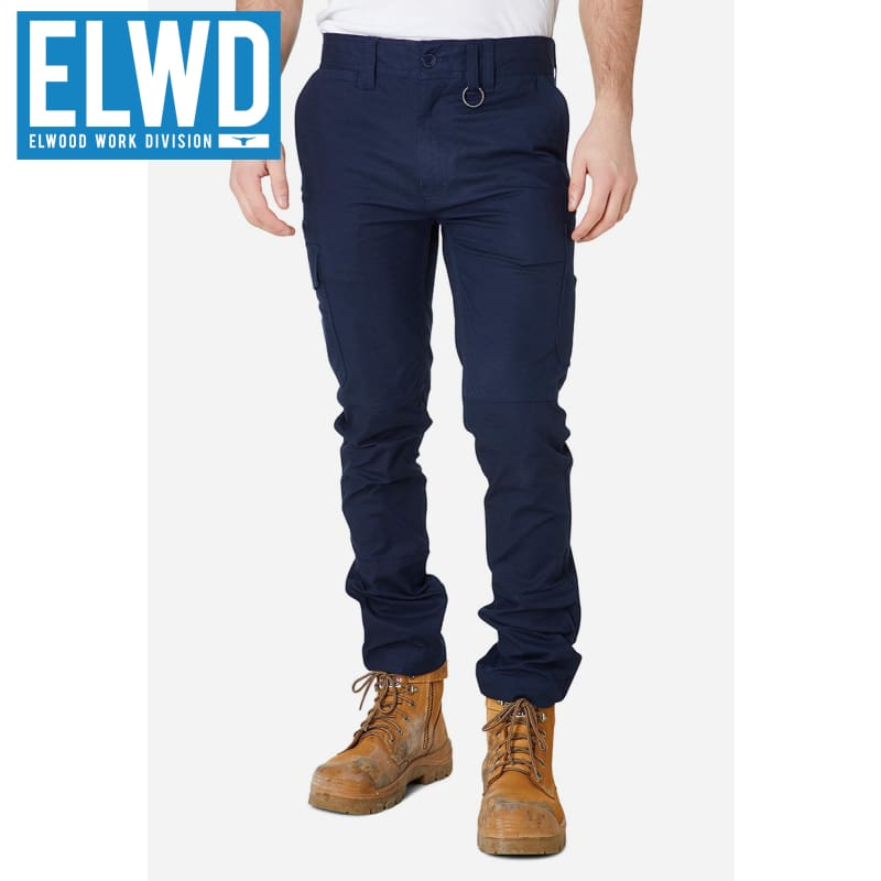 Elwd Workwear - Slim Pant Cotton/poly Navy