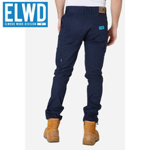 Load image into Gallery viewer, Elwd Workwear - Slim Pant Cotton/poly Navy