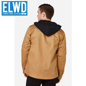 Elwd Workwear - Utility Jacket Coated Canvas Stone