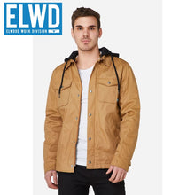 Load image into Gallery viewer, Elwd Workwear - Utility Jacket Coated Canvas Stone