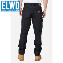 Load image into Gallery viewer, Elwd Workwear - Utility Pant Cotton Canvas Black