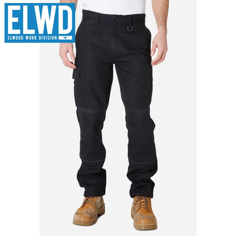Elwd Workwear - Utility Pant Cotton Canvas Black