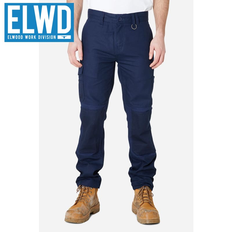 Elwd Workwear - Utility Pant Cotton Canvas Navy