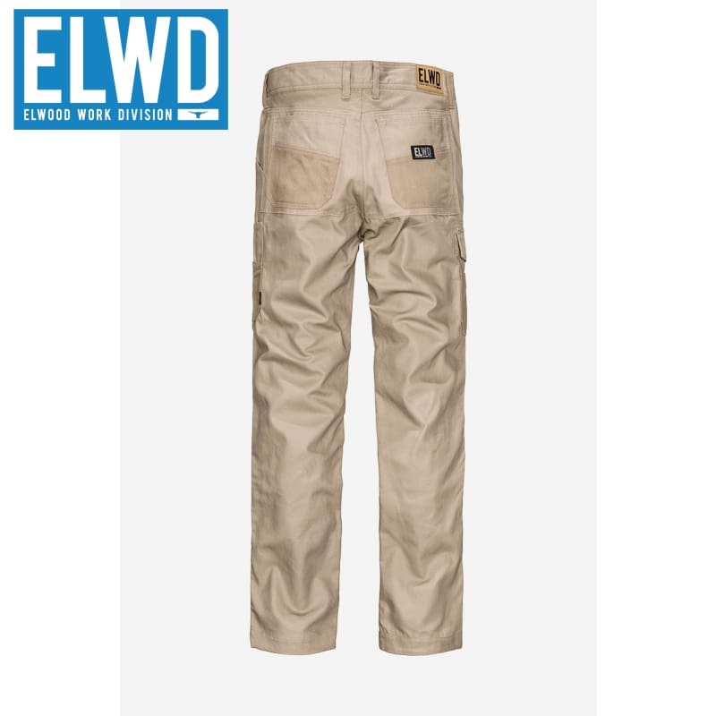 Elwd Workwear - Utility Pant Cotton Canvas Stone
