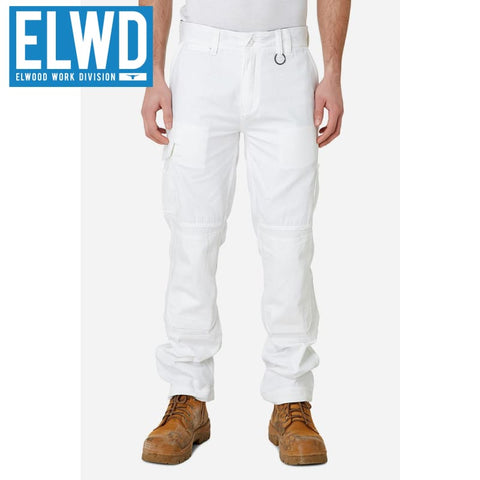Elwd Workwear - Utility Pant Cotton Canvas White