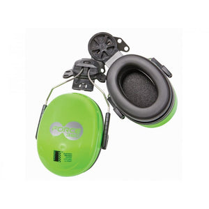 Force360 28Db Wave Premium Hard Hat Earmuff- 30Mm Green Safety Wear