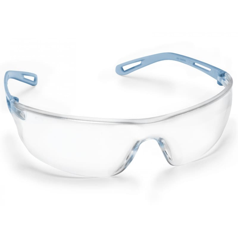 Force360 Air Clear Kn Lens Safety Spectacle Blue Wear