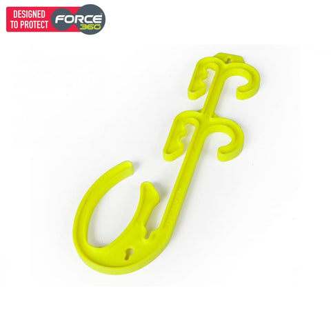 Force360 Electrical Suspension Hook Bulk Pack (Pack Of 5) Lime Safety Wear