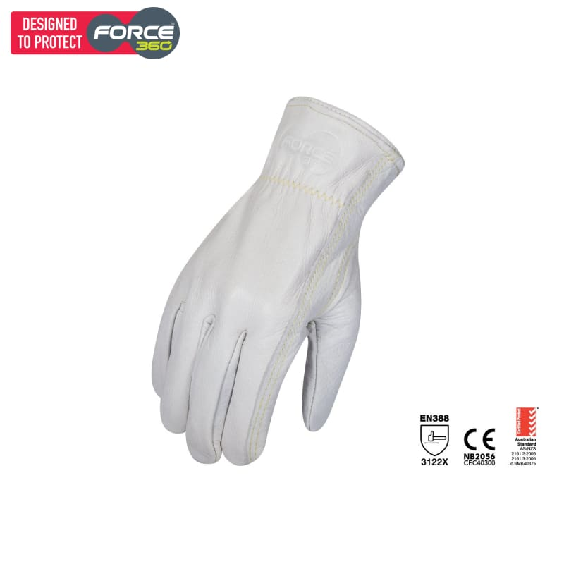 Force360 Endurance Certified Rigger White Safety Wear