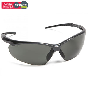 Force360 Flight Polarised Lens Safety Spectacle Black Wear