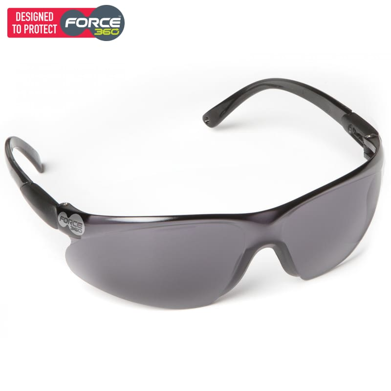 Force360 Pulse Smoke Lens Safety Spectacle Wear