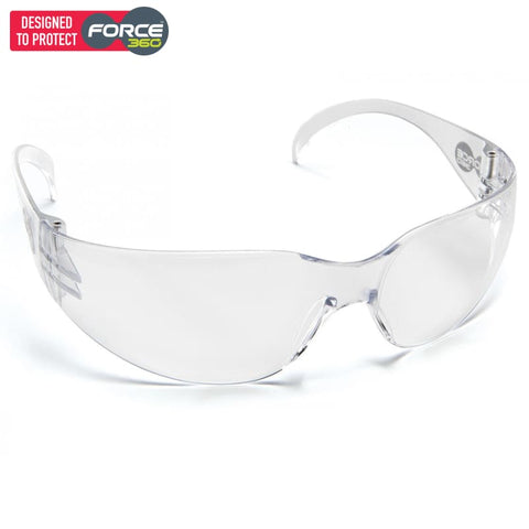 Force360 Radar Clear Lens Safety Spectacle Wear