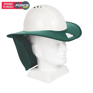 Force360 Snap Brim Green Safety Wear