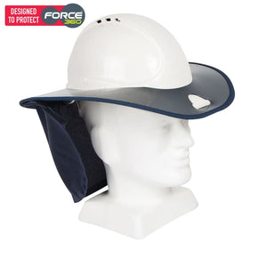 Force360 Snap Brim Navy Safety Wear