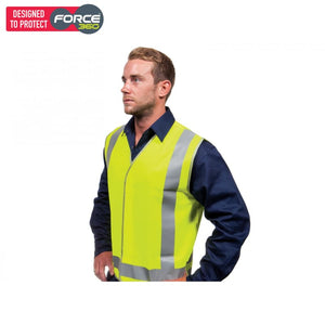 Force360 Yellow Day & Night Safety Vest Wear