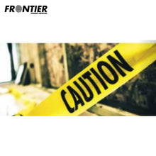 Load image into Gallery viewer, Frontier Caution Safety Tape 100M Yellow/black