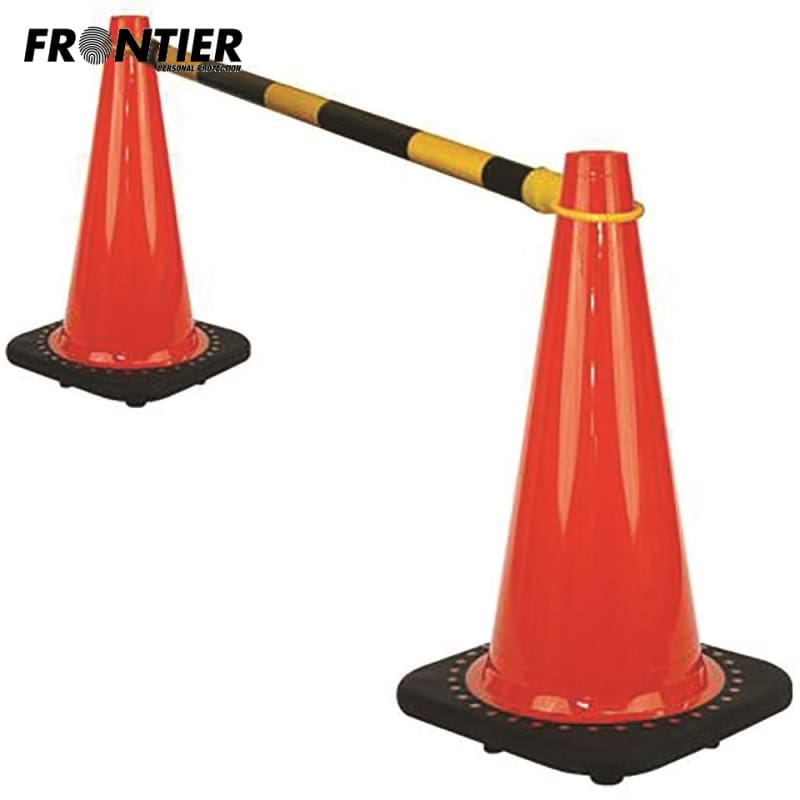 Frontier Cone Extension Bar Yellow/black Safety