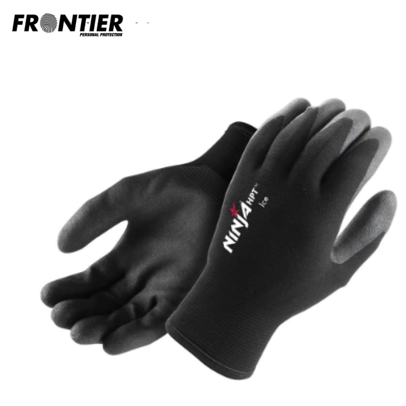 Frontier Ninja Hpt Ice Glove Black (Buy Min. 6 Pr) Safety Wear