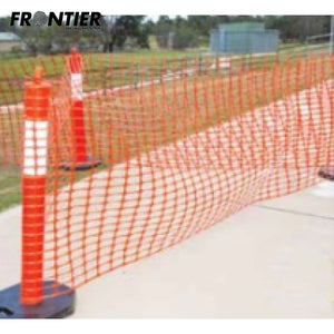 Frontier Premium Barrier Mesh 50M Orange Safety