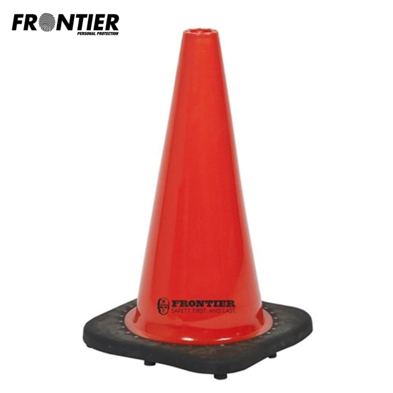 Frontier Traffic Cone Pvc 450Mm Orange Safety