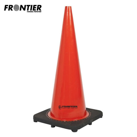 Frontier Traffic Cone Pvc 700Mm Orange Safety