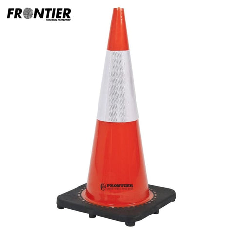 Frontier Traffic Cone Reflective Tape 700Mm Orange Ctn 6 Safety