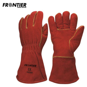 Frontier Ultimate Welder Glove Red (Buy Min. 12 Pr) Safety Wear