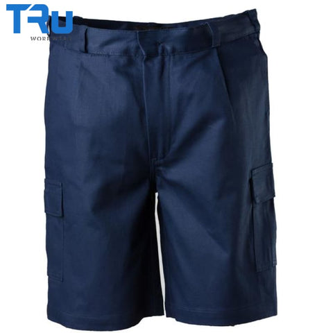 Heavy Weight Cotton Drill Cargo Shorts Workwear