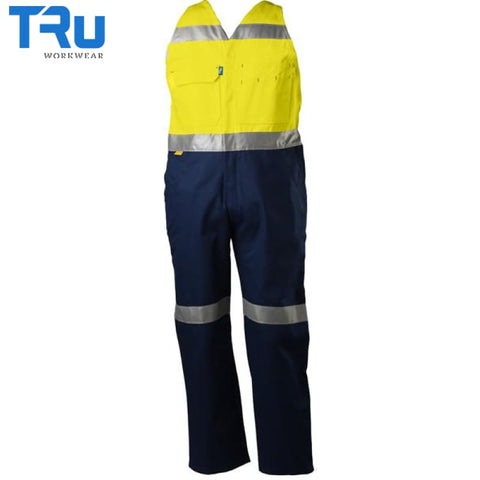 Hi Vis Action Back Coveralls Workwear