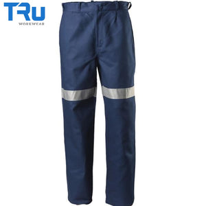 Lightweight Cotton Work Trousers With 3M Tape Workwear