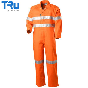 Lightweight Coveralls With 3M Tape Workwear