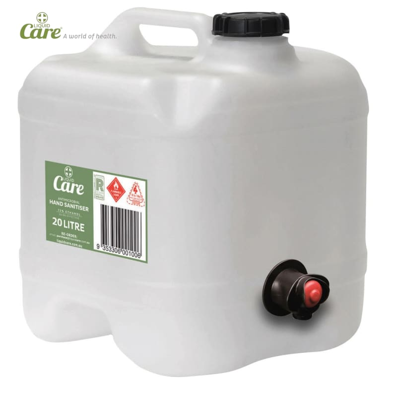 Liquid Care® Hand Sanitiser - 20 Litre Bulk Drum