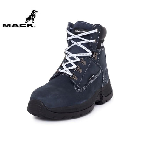 Mack Ladies Safety Boot Brooklyn Navy/white Workwear