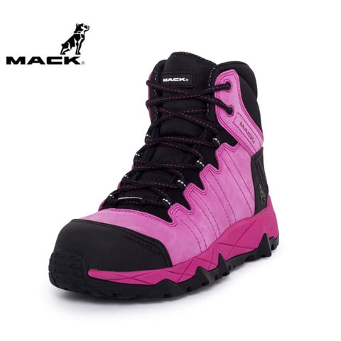 Mack Ladies Safety Boot Mcgrath 2 Pink Workwear