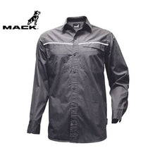 Load image into Gallery viewer, Mack Long Sleeve Rip Stop Shirt Alloy Workwear