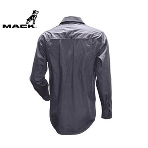 Mack Long Sleeve Rip Stop Shirt Alloy Workwear