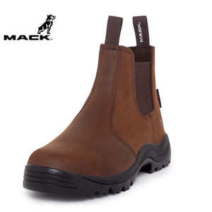 Mack Non-Safety Boot Farmer Rocky Brown Workwear