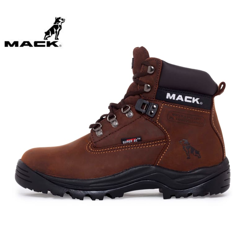 Mack Non-Safety Boot Ultra Brown Workwear