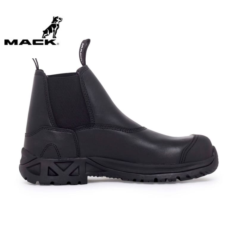 Mack Safety Boot Barb2 Black Workwear