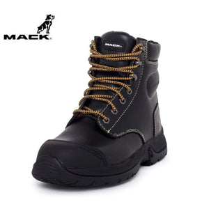 Mack Safety Boot Chassis Black Workwear