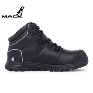 Mack Safety Boot Haul Black Workwear