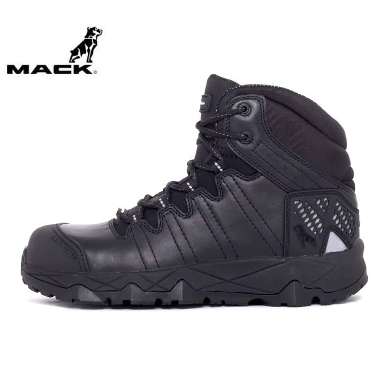 Mack Safety Boot Octane Black Workwear