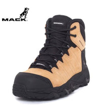 Load image into Gallery viewer, Mack Safety Boot Octane Honey Workwear