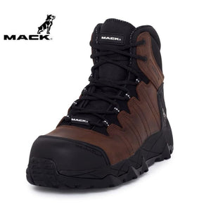 Mack Safety Boot Octane Rocky Brown Workwear