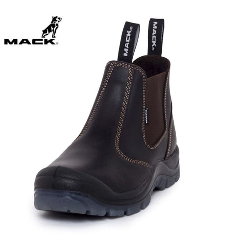 Mack Safety Boot Piston Claret Workwear