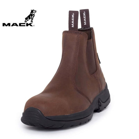 Mack Safety Boot Rider 2 Rocky Brown Workwear