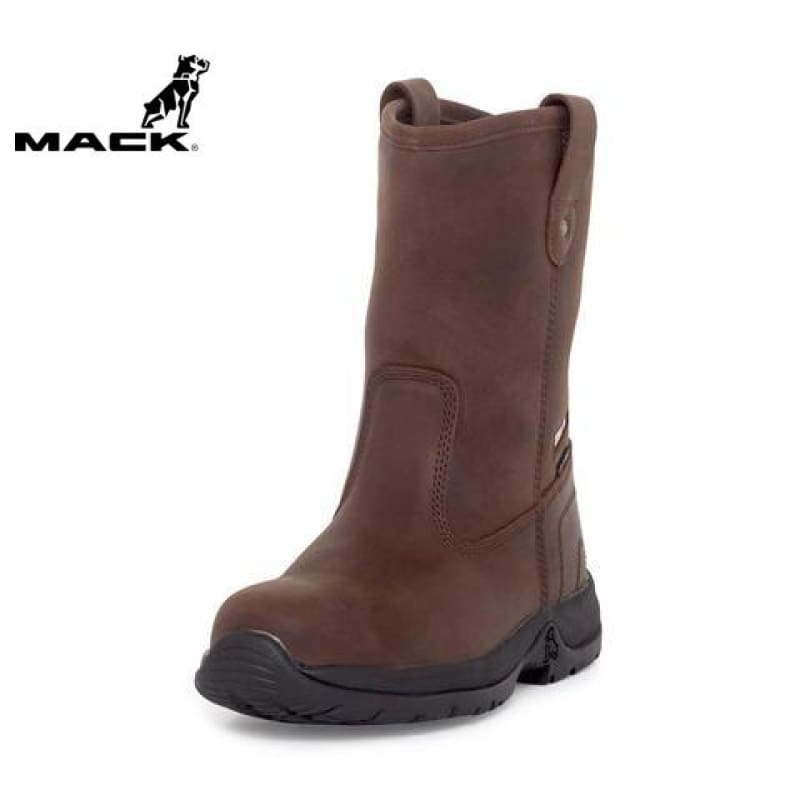 Mack Safety Boot Rigger 2 Rocky Brown Workwear